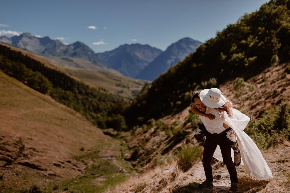 photographe elopement montagne mariage