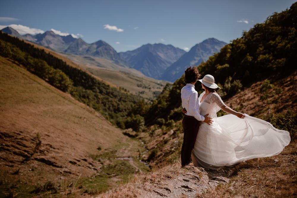 elopement mariage à la montagne