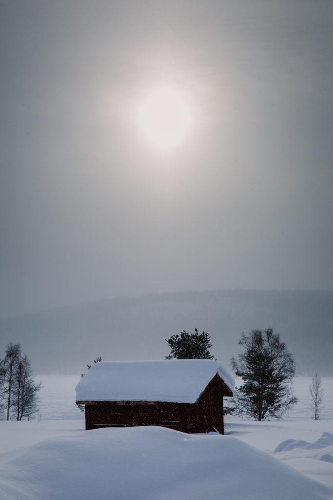 Jukkasjärvi sweden landscape photography