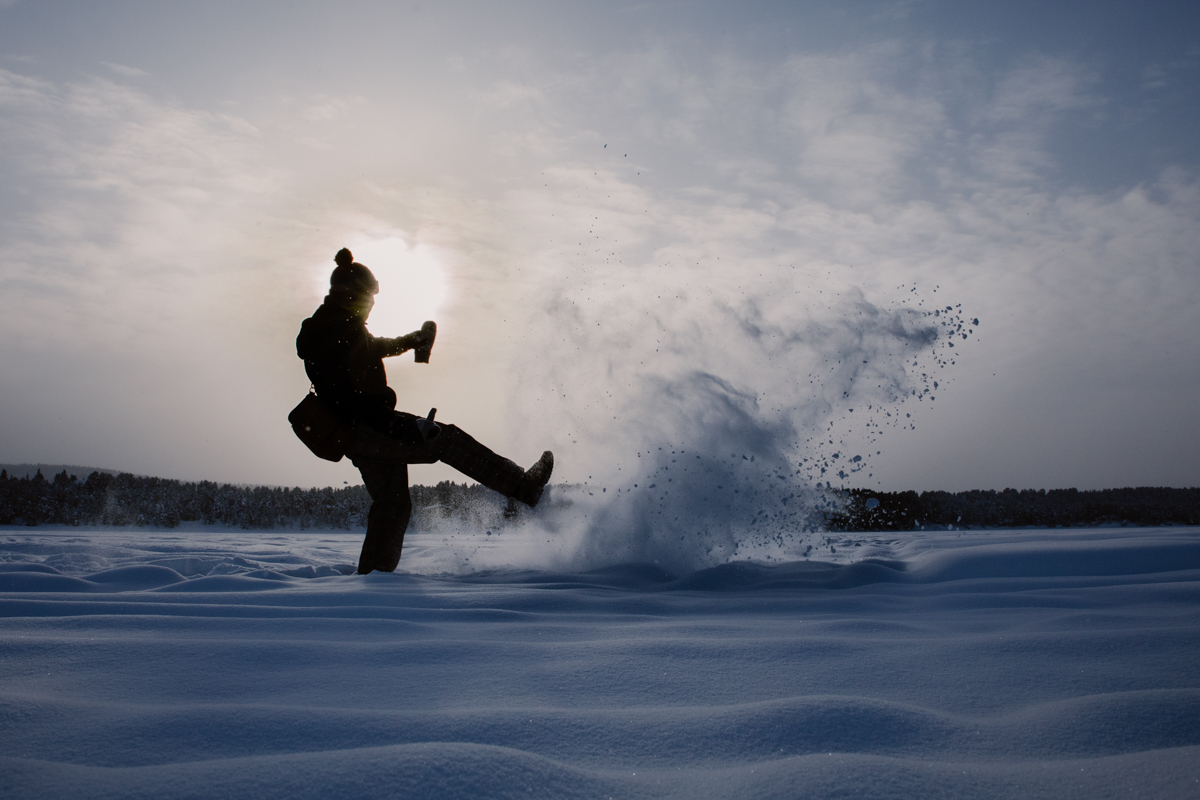 lapland photographer snow winter sweden