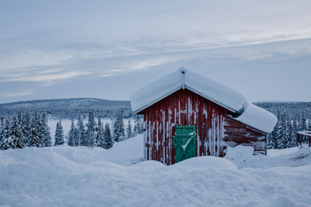 landscape photography Jukkasjärvi sweeden