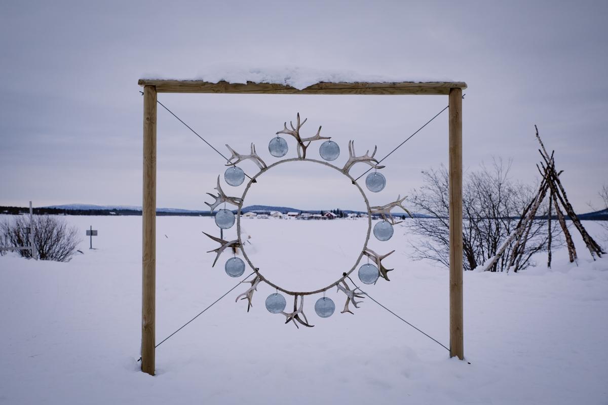 lapland sami camp Jukkasjärvi
