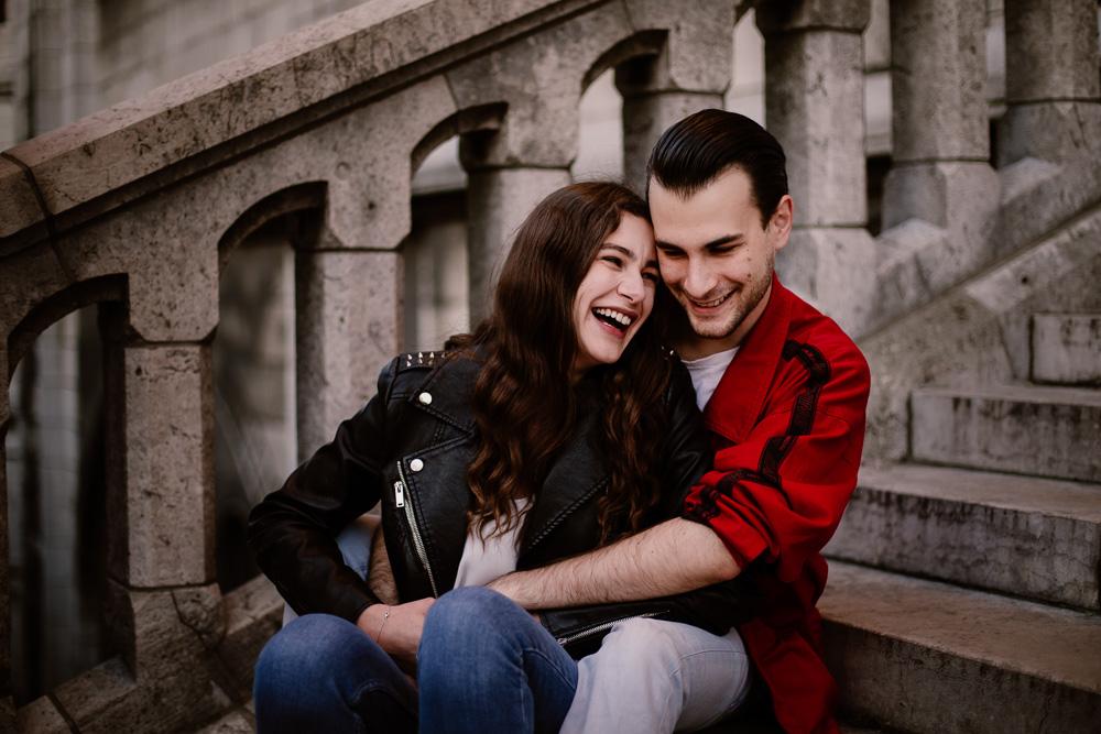 photographe couple Paris Montmartre