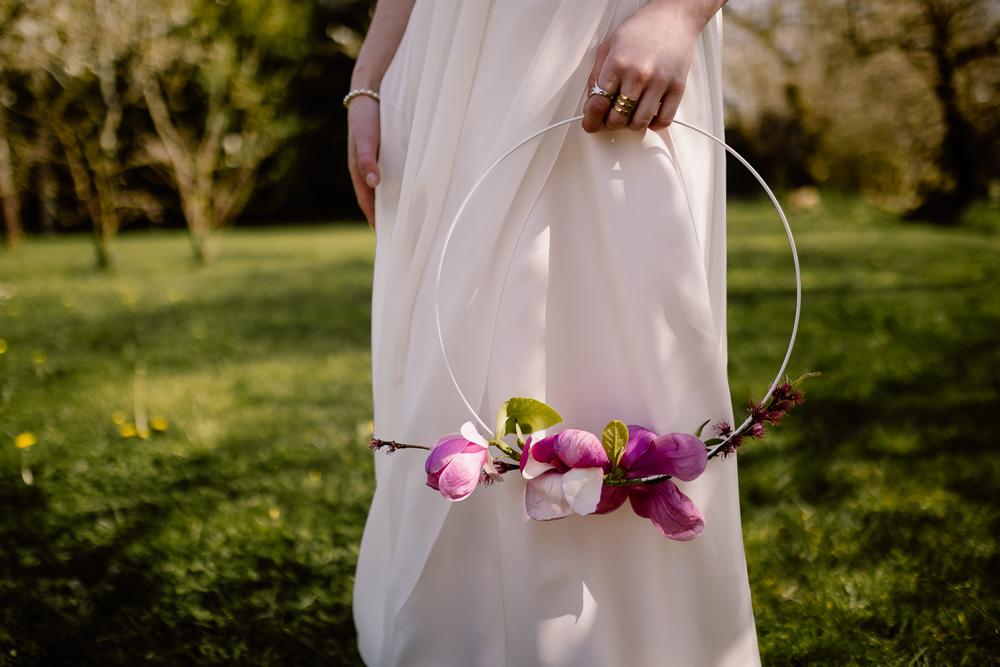 cerceau feurs mariage Nantes fleuriste