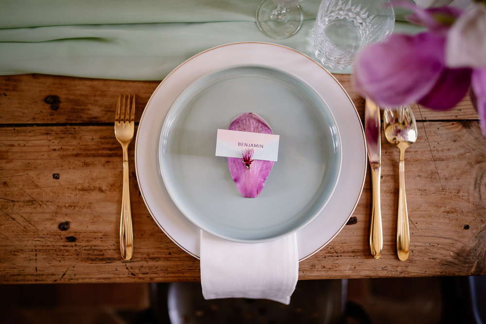 décoration table mariage printemps fleurs Nantes