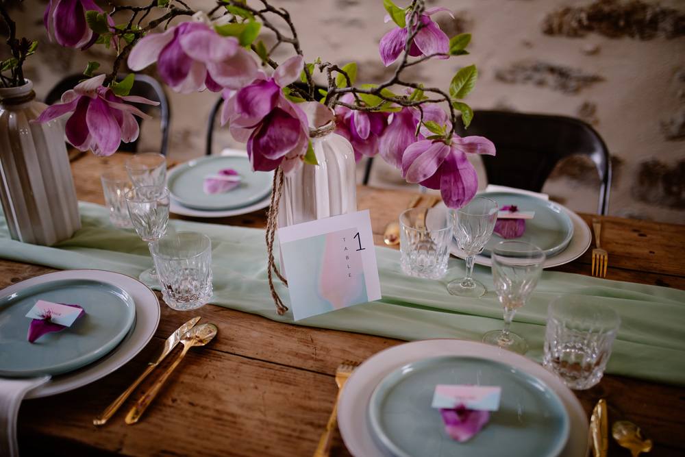 Wedding Planner Designer Nantes table mariage