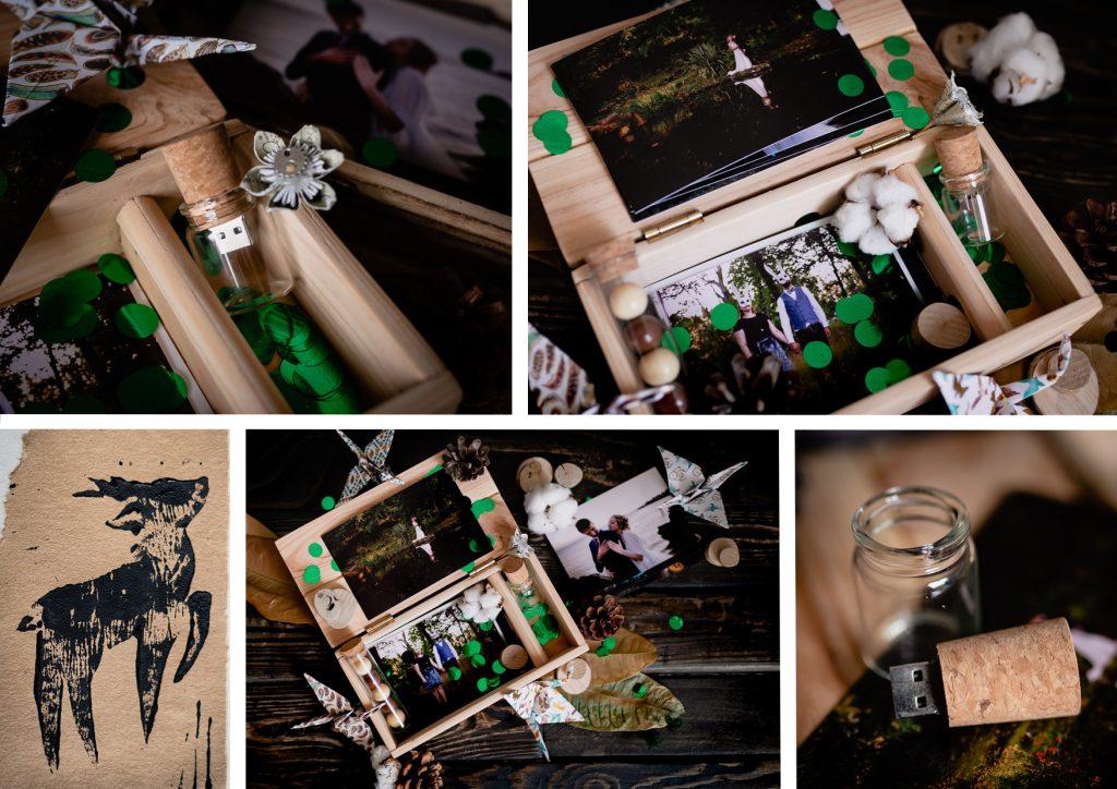 packaging USB tarifs photographe mariage