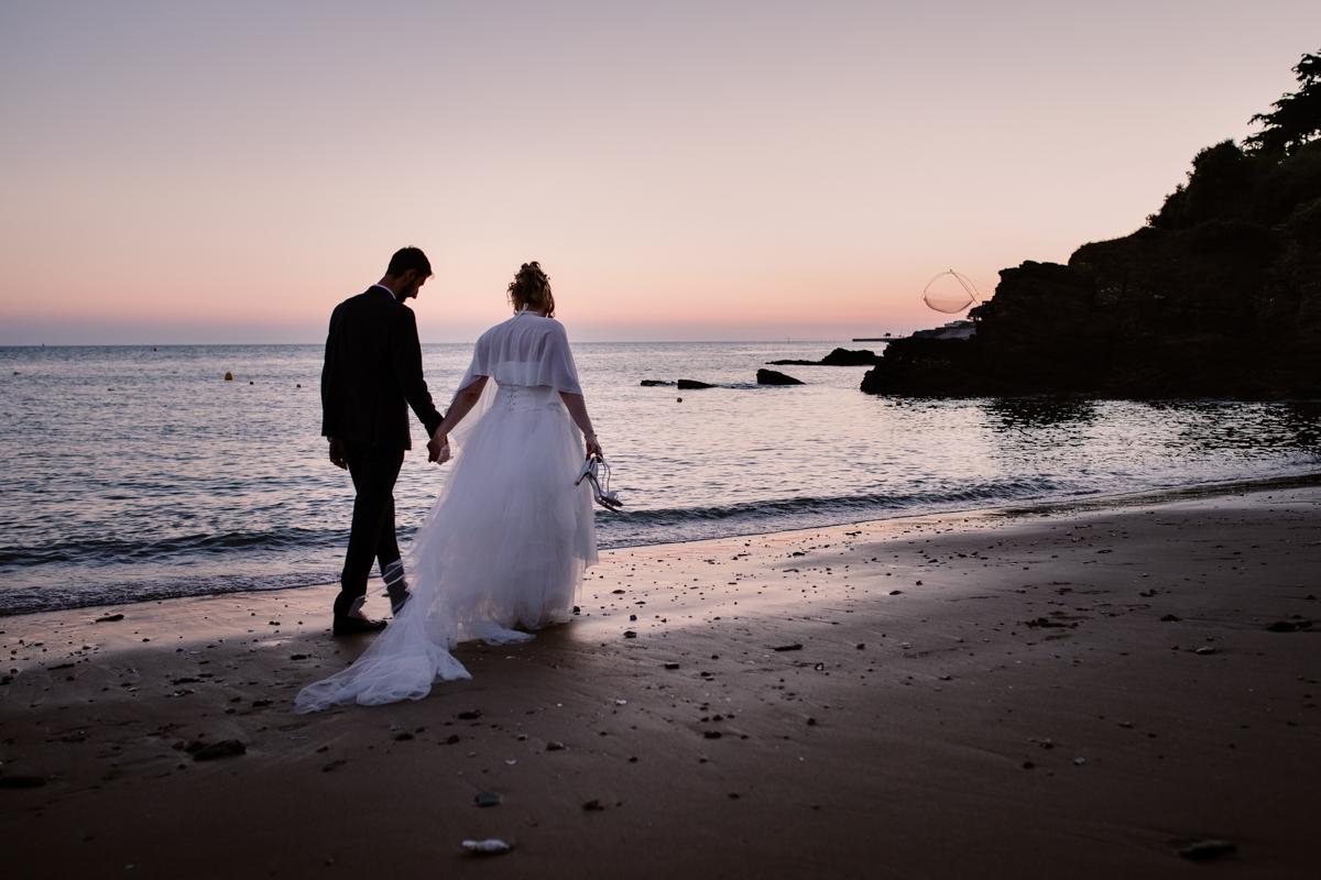 photographe de mariage à Pornic
